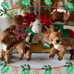 TY | Holiday Set Beanie Babies Set of 5